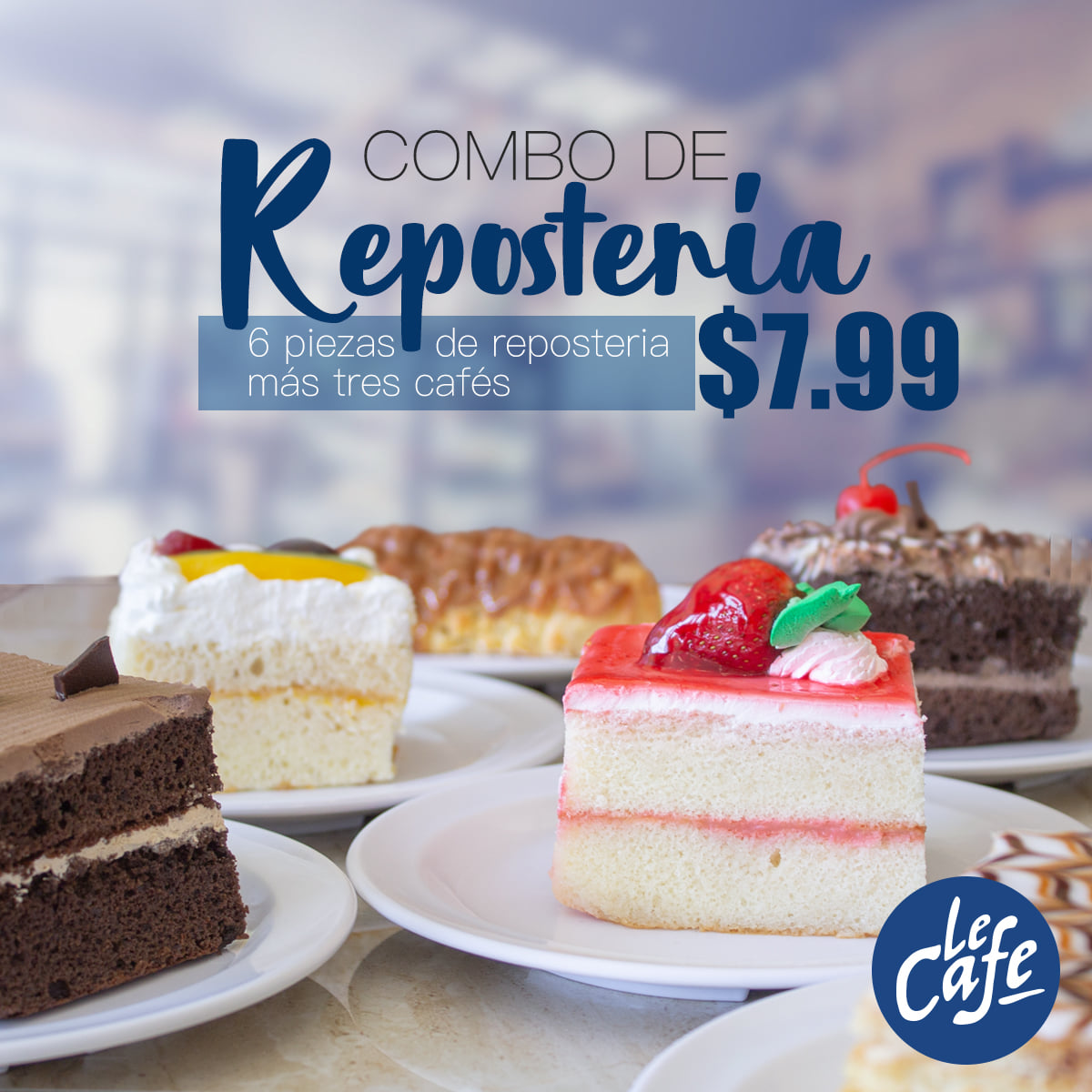 Le Cafe – Mejicanos