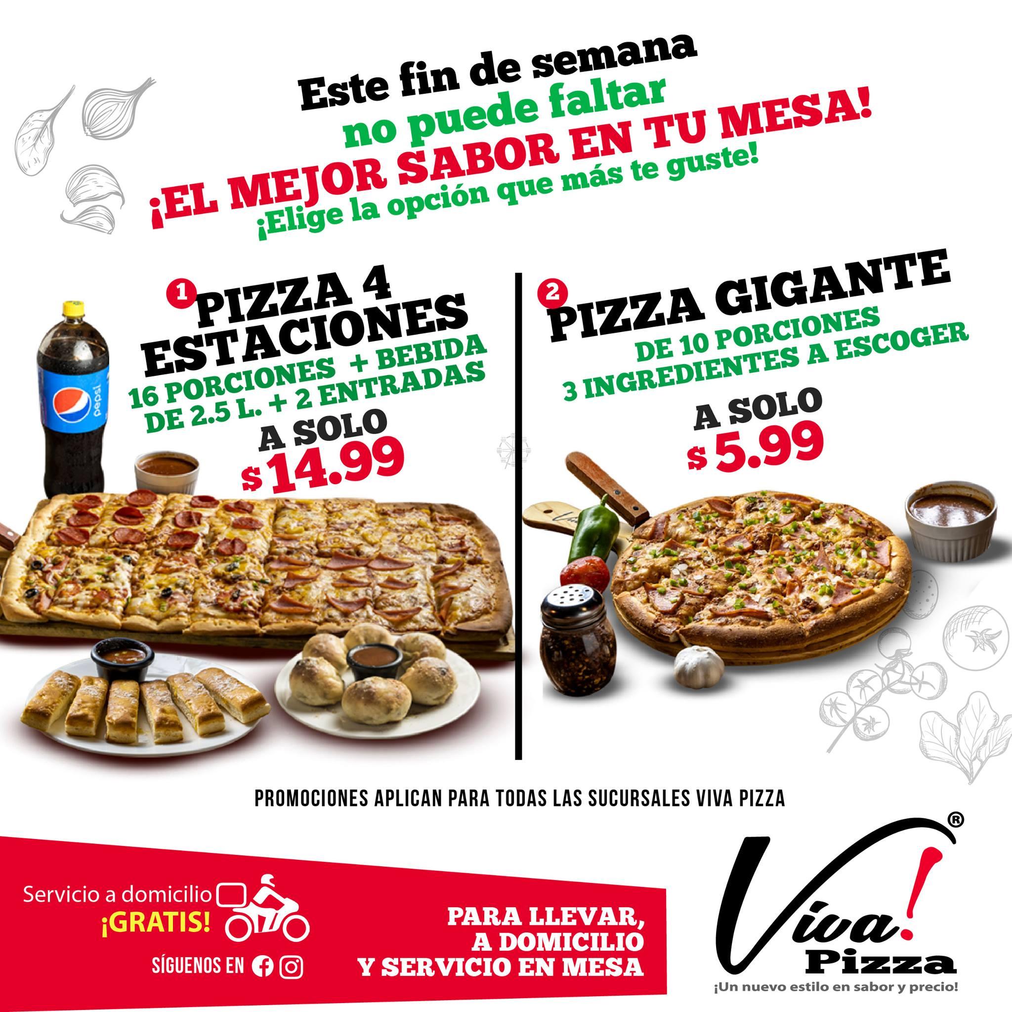Viva Pizza – Ayutuxtepeque
